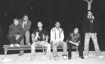 Le groupe de rock Ambondrona dans ses débuts. Photo : BSK Magazine