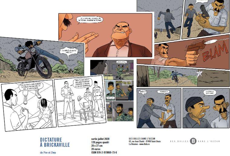 BD : «Dictature à Brickaville», Pov et Dwa annonce la suite de l'aventure de Rémy