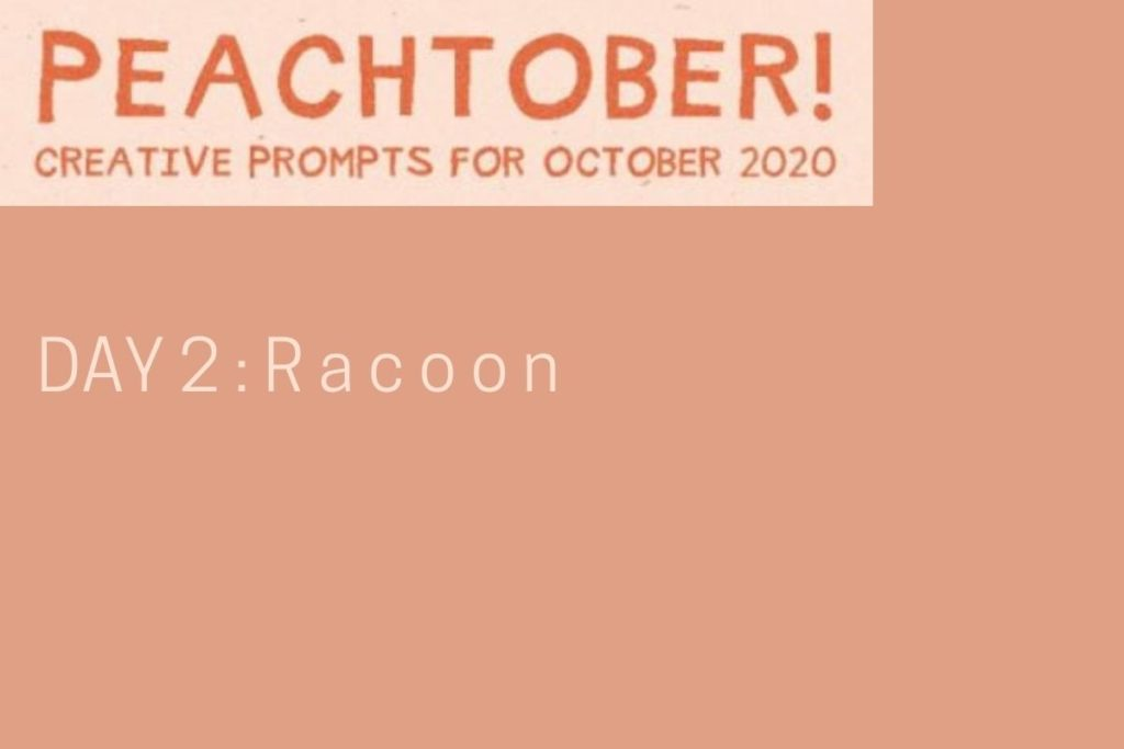 Peachtober, Day 2 : RACOON